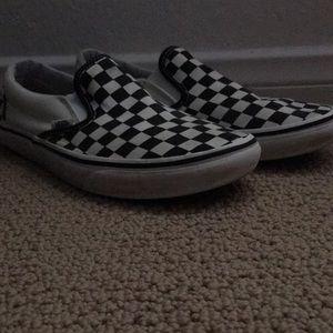 Checkered vans size 8.5 men